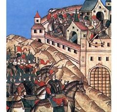 Татарский хан Тохтамыш захватил и сжег Москву