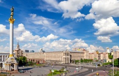 Украина провозгласила свою независимость