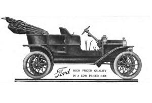 Начато производство новой модели автомобиля – Форд-Т