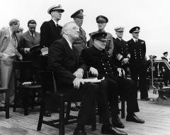 Главы США и Великобритании подписали «Атлантическую хартию»