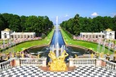 Состоялось торжественное открытие летней резиденции русских императоров — Петергофа
