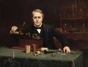 Изобретатель Томас Эдисон впервые предложил использовать для обращения по телефону слово «Нello» («Алло»)