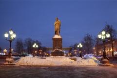 В Москве состоялся перенос памятника А.С. Пушкину с Тверского бульвара на Страстную площадь