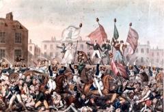 В Манчестере правительственными войсками разогнан 60-тысячный рабочий митинг