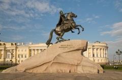 В Санкт-Петербурге торжественно открыт памятник Петру I («Медный всадник»)