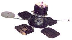 Произведено фотографирование лунной поверхности и передача на Землю этих снимков