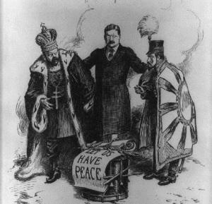 Президент США Рузвельт согласился стать посредником на переговорах о заключении мира в Русско-японской войне