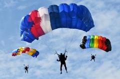 День рождения парашюта - Франсуа Бланшар продемонстрировал сконструированный им парашют