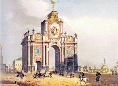В Москве снесены Красные ворота