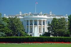 Завершилось строительство Белого дома в Вашингтоне
