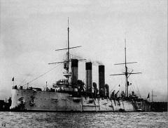 На верфи «Новое Адмиралтейство» в Петербурге начато строительство крейсера «Аврора»