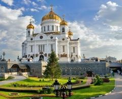 В Москве освящен храм Христа Спасителя