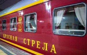 Между Москвой и Ленинградом начал курсировать первый в стране фирменный поезд «Красная стрела»