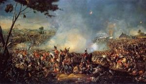 Английские и прусские войска разгромили армию Наполеона Бонапарта в битве при Ватерлоо