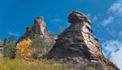 Основан заповедник «Красноярские Столбы» на правом берегу Енисея