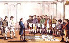 Представители английских масонских лож учредили Великую ложу Англии