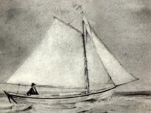 Рыбак Альфред Енсен отправился в первый в истории одиночный рейс через Атлантику