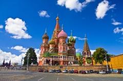 На Красной Площади в Москве освящен Покровский собор, известный также как Храм Василия Блаженного