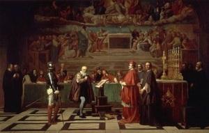 Галилео Галилей отрекся от своего учения о гелиоцентрической системе мира
