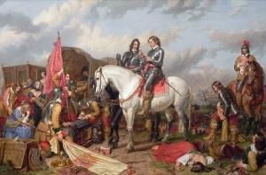 В сражении при Несби революционная армия британского парламента одержала решающую победу над войсками короля Карла I