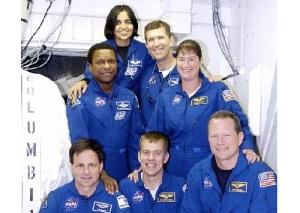 Погиб экипаж американского шаттла «Колумбия»