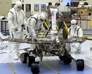 Американский марсоход «Спирит» совершил посадку на поверхности Марса