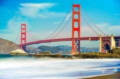 В Сан-Франциско началось строительство моста над проливом «Золотые ворота»