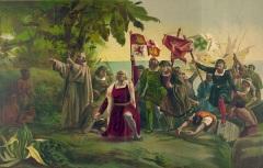 Экспедиция Христофора Колумба достигла острова Сан-Сальвадор (официальная дата открытия Америки)