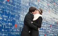 В Париже на Монмартре появилась «Стена любви»