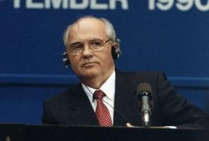 Президенту СССР Михаилу Горбачеву присуждена Нобелевская премия мира