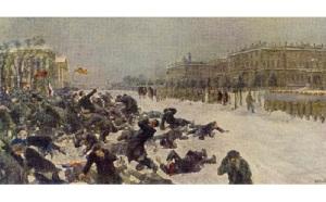 Кровавое воскресенье, ставшее началом революции 1905 года