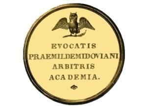 Уральский промышленник Павел Демидов учредил премию «для содействия к преуспеванию наук»