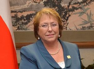 Впервые президентом Чили стала женщина