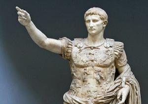 Октавиан получил титул Августа