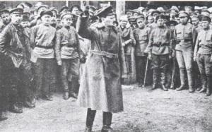 ВЦИК учредил Реввоенсовет Республики (РВСР) во главе с Львом Троцким