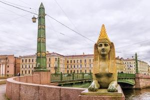 В Санкт-Петербурге на Фонтанке состоялось открытие Египетского моста