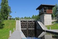 В честь коронации императора Александра II открыт Сайменский канал в Финляндии