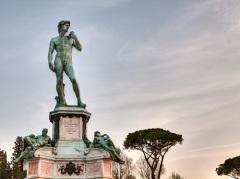 Во Флоренции установлена скульптура Давида - шедевр гениального Микеланджело