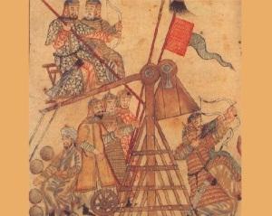 После долгой осады монголо-татарские войска ворвались в Киев
