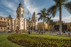 Основан город Лима – будущая столица Перу