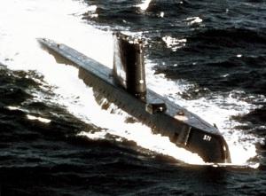 На воду спущена первая в мире атомная подводная лодка