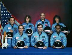 Произошла трагедия на космическом челноке «Челленджер»