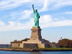 В Нью-Йорке состоялось официальное открытие Статуи Свободы