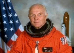 В космический полет отправился 77-летний астронавт Джон Гленн