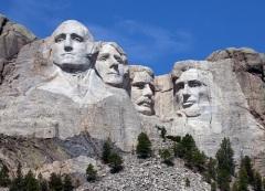 Завершено сооружение национального мемориала США на горе Рашмор