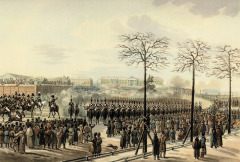 В Санкт-Петербурге произошло восстание декабристов