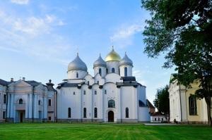 Освящен Софийский Собор – первая и важнейшая святыня Великого Новгорода