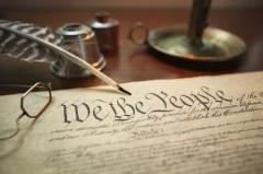 Конституционный конвент в Филадельфии принял Конституцию США