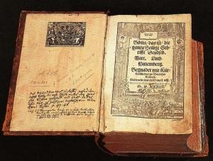 Напечатан «Новый Завет», переведенный Мартином Лютером с древнегреческого языка на немецкий