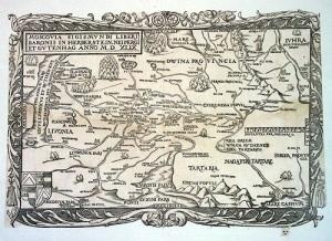 Вышел первый печатный вариант карты Руси